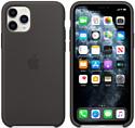 Apple Silicone Case для iPhone 11 Pro Max (черный)