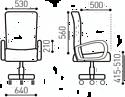 Brabix Eldorado EX-504 (коричневый)