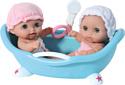 JC Toys Lil' Cutsies Twin Dolls in Bath (16980)