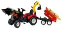 Falk Трактор-экскаватор с прицепом (1000WH/1002WH)