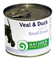 Nature's Protection Консервы Dog Adult Small Breed Veal & Duck (0.4 кг) 1 шт.