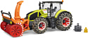 Bruder Claas Axion 950 with snow chains and snow blower 03017