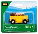 Brio Вагон с коровой 33406
