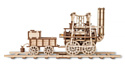 Eco-Wood-Art Локомотив с резиномотором
