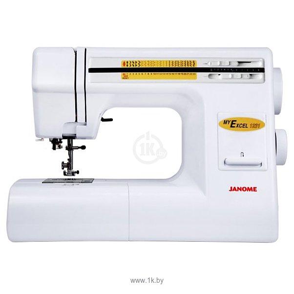 Janome My Excel 1221  Швейный Мир  sewingworldru