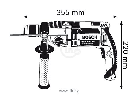 Фотографии Bosch GSB 21-2 RCT (060119C700)