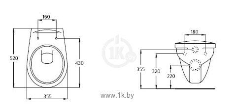 Фотографии Ideal Standard Ecco W 7406 01