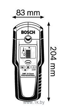 Фотографии Bosch DMF 10 Zoom (0601010000)