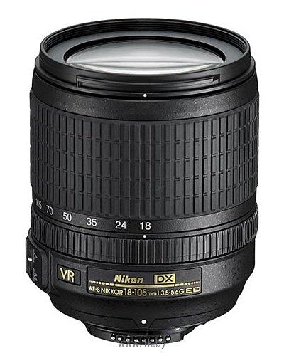 Фотографии Nikon 18-105mm f/3.5-5.6G AF-S ED DX VR Nikkor