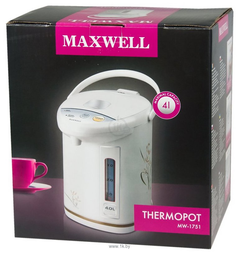 Ремонт термопот maxwell mw 1751
