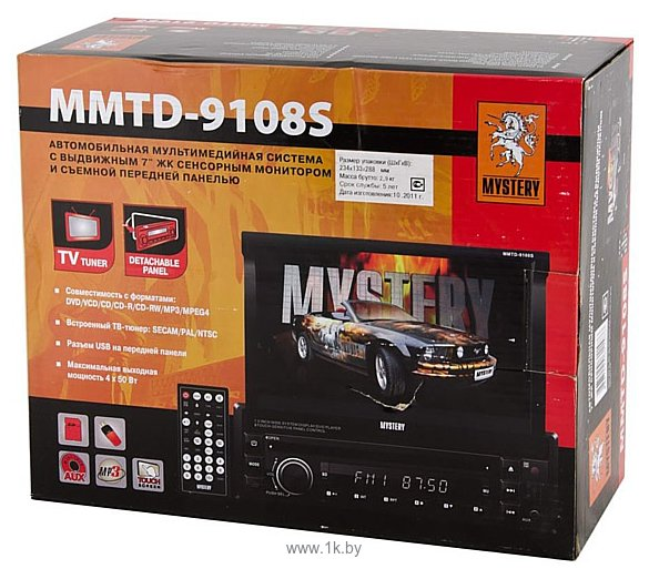 Фотографии Mystery MMTD-9108S