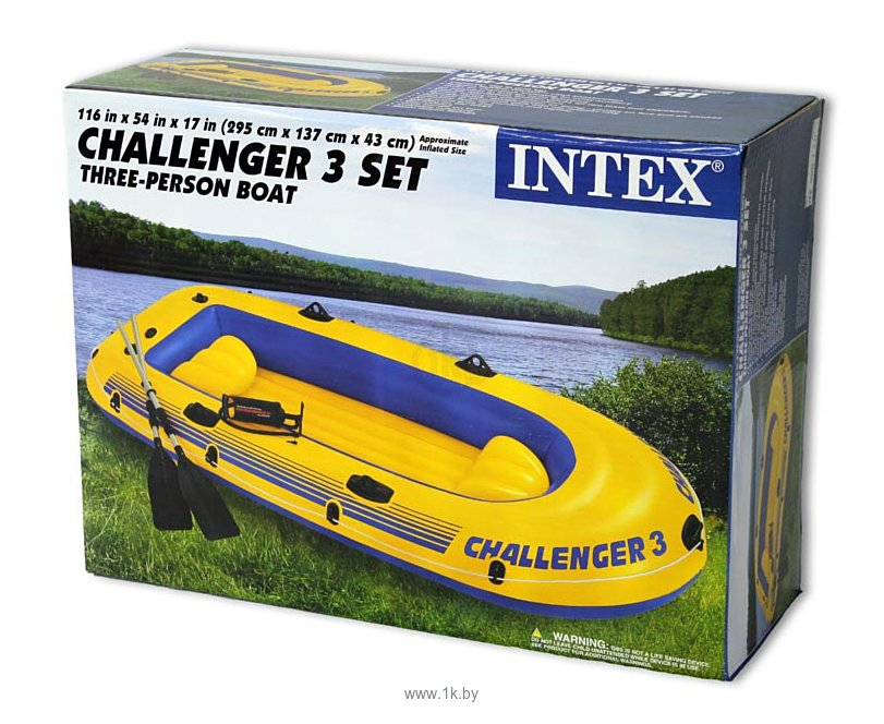 Фотографии Intex Challenger-3 Set (68370)