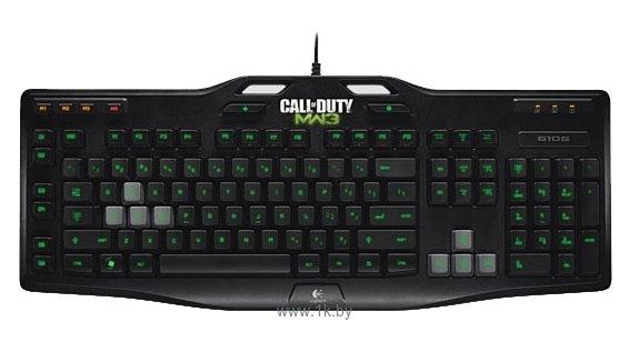 Фотографии Logitech Gaming Keyboard G105: Made for Call of Duty Black USB