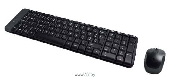 Фотографии Logitech Wireless Combo MK220 Black USB