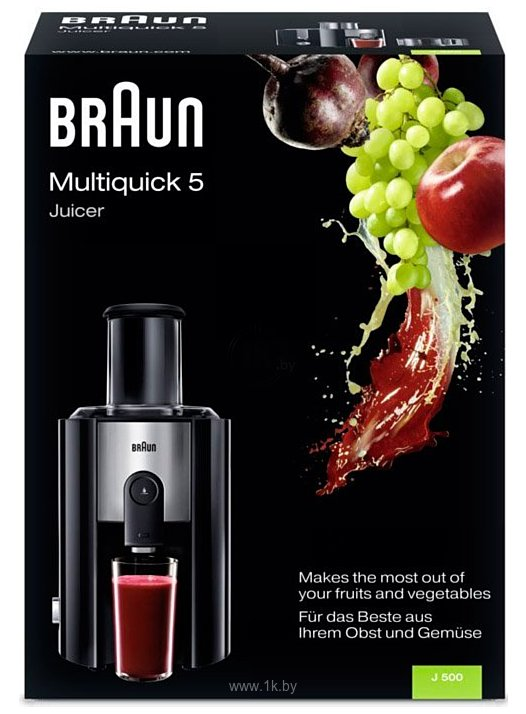 Фотографии Braun J500 Multiquick 5