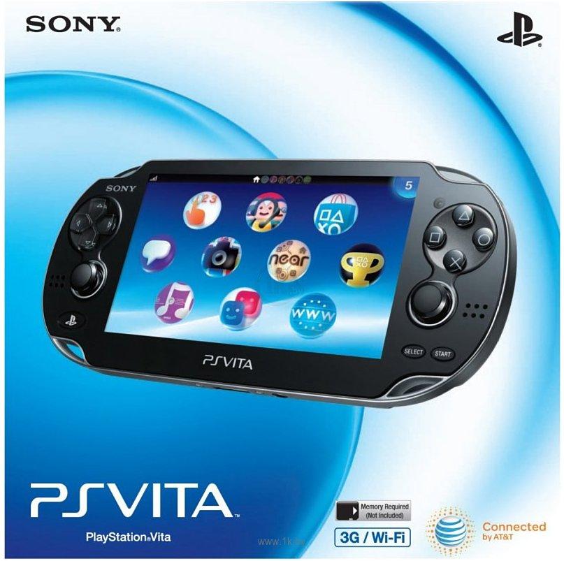 Фотографии Sony PlayStation Vita 3G/Wi-Fi