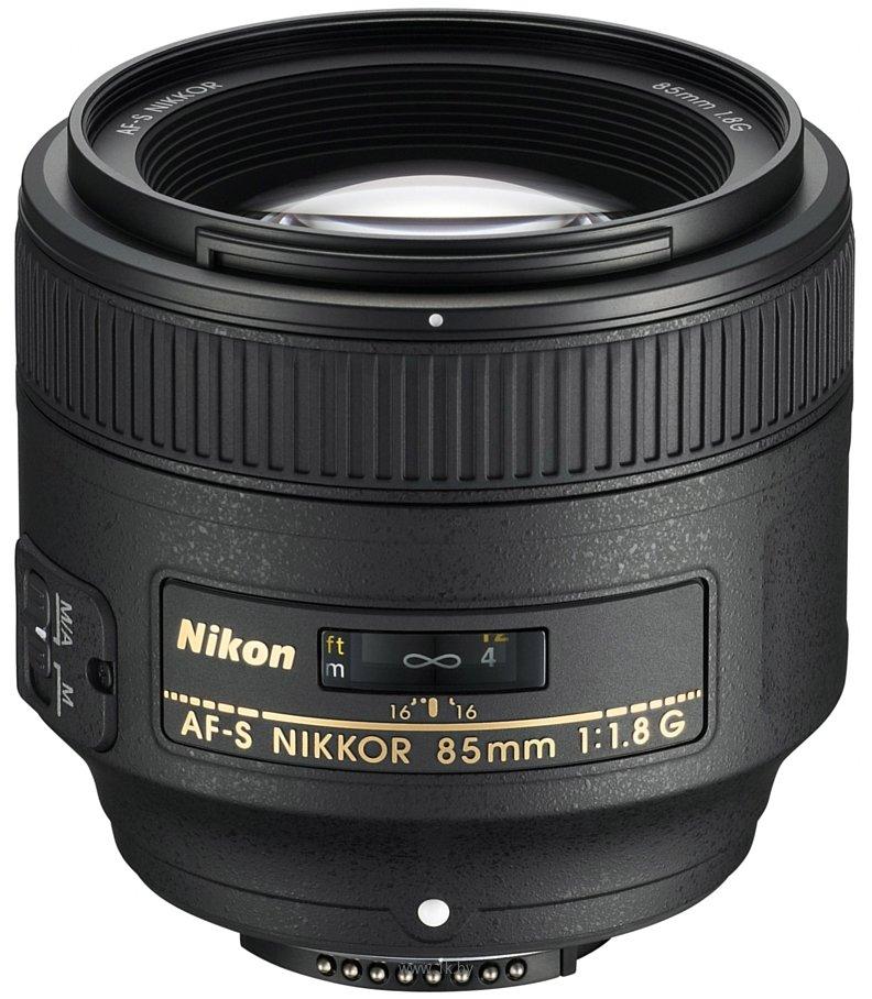 Фотографии Nikon 85mm f/1.8G AF-S Nikkor