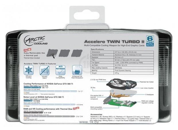 Фотографии Arctic Cooling Accelero Twin Turbo II