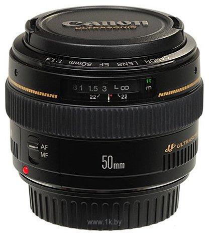 Фотографии Canon EF 50mm f/1.4 USM