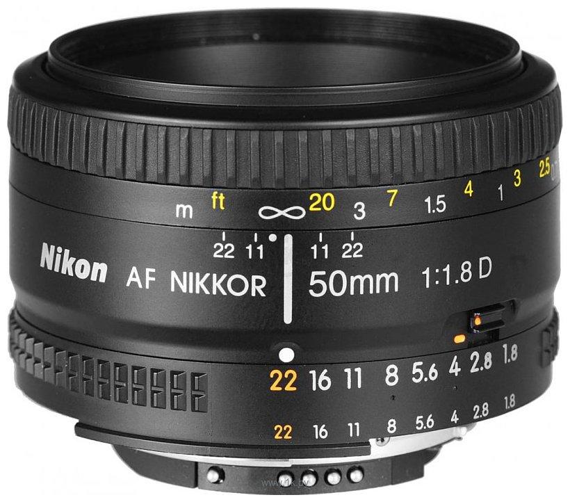 Фотографии Nikon 50mm f/1.8D AF Nikkor
