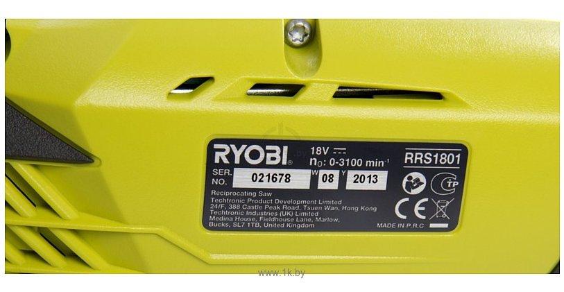 Фотографии RYOBI RRS1801M