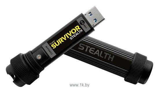 Фотографии Corsair Flash Survivor Stealth 64Gb