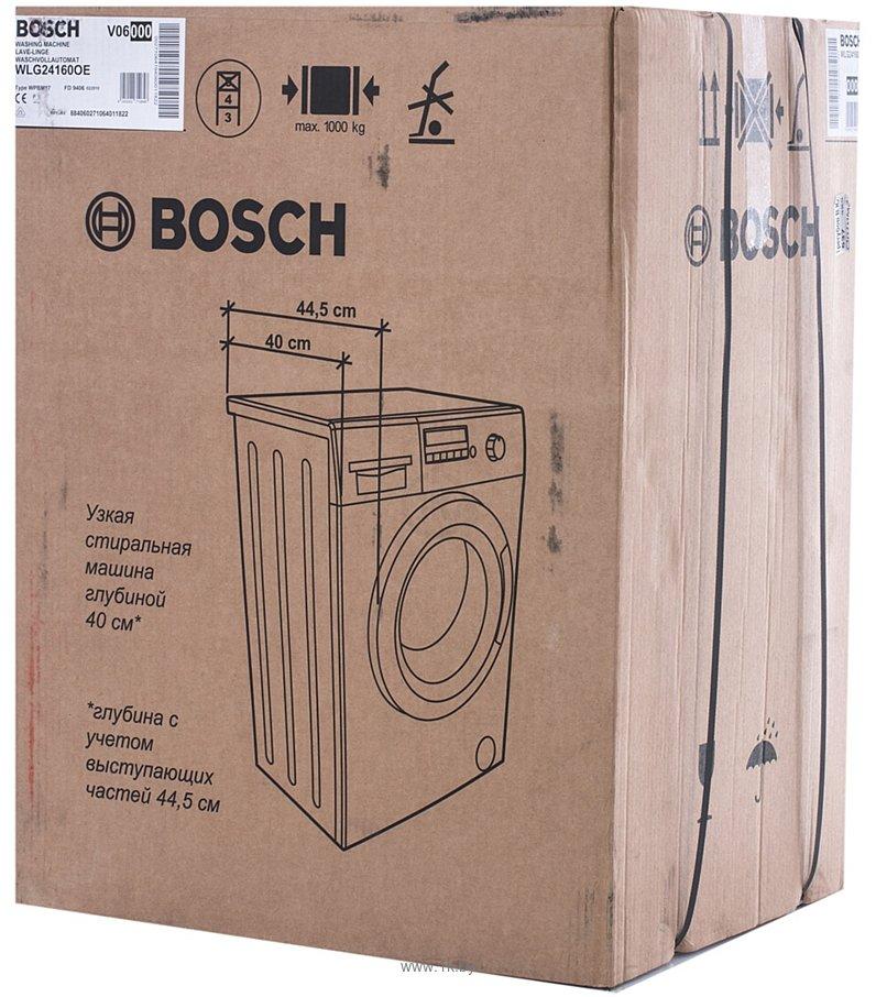 Фотографии Bosch WLG 24160
