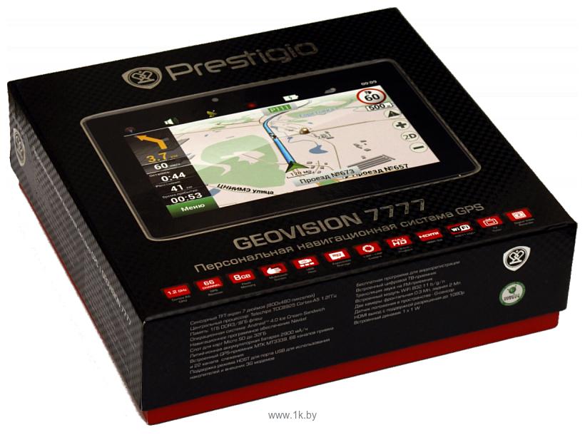 Фотографии Prestigio GeoVision 7777