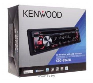Фотографии Kenwood KDC-BT43U