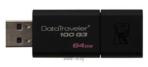 Фотографии Kingston DataTraveler 100 G3 64GB