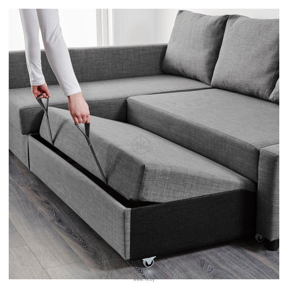 Фотографии Ikea Фрихетэн 604.191.46 (шифтебу темно-серый)