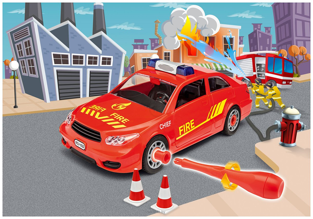 Фотографии Revell 00810 Легковая пожарная машина