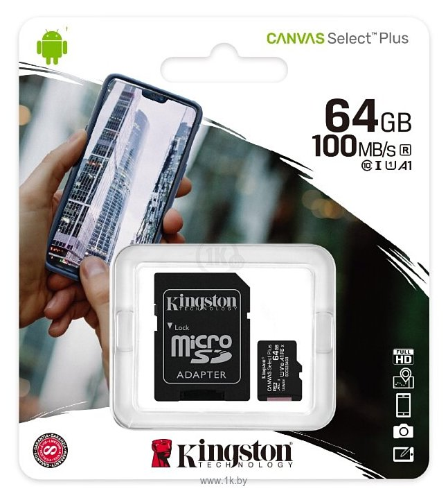 Фотографии Kingston SDCS2/64GB