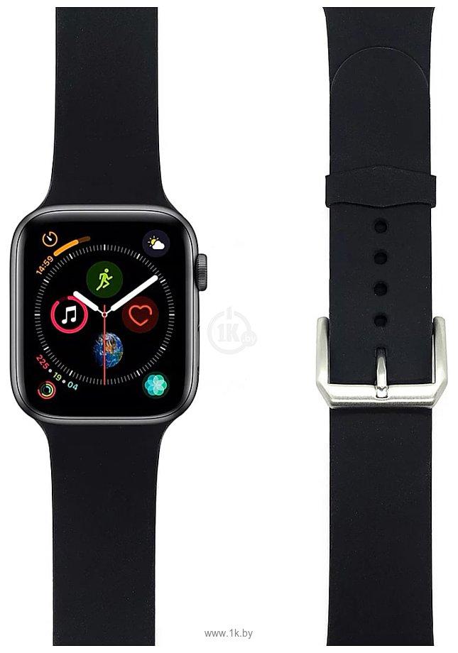 Фотографии Lyambda Alcor для Apple Watch 42-44 мм (черный)
