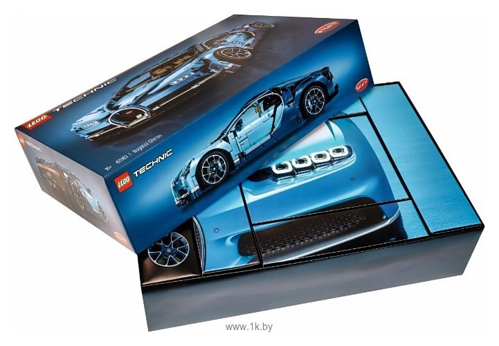 Фотографии LEGO Technic 42083 Бугатти Широн
