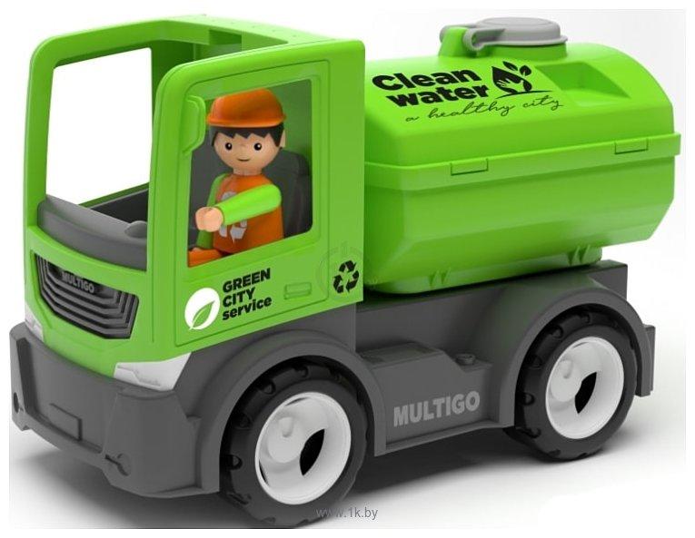 Фотографии Efko Городской грузовик с цистерной и водителем 27285EF-CH