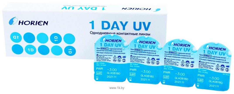 Фотографии Horien 1 Day UV +6 дптр 8.6 mm