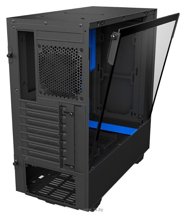 Фотографии NZXT H500 Black/blue