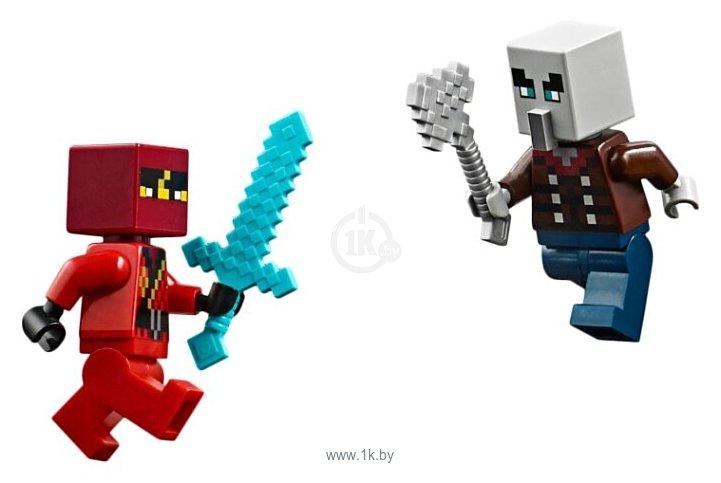 Фотографии LEGO Minecraft 21160 Патруль разбойников