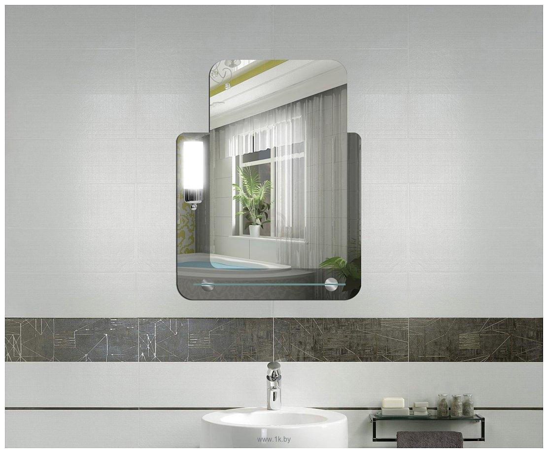 Фотографии Dubiel Vitrum Lucas 53x69 зеркало (5905241001098)