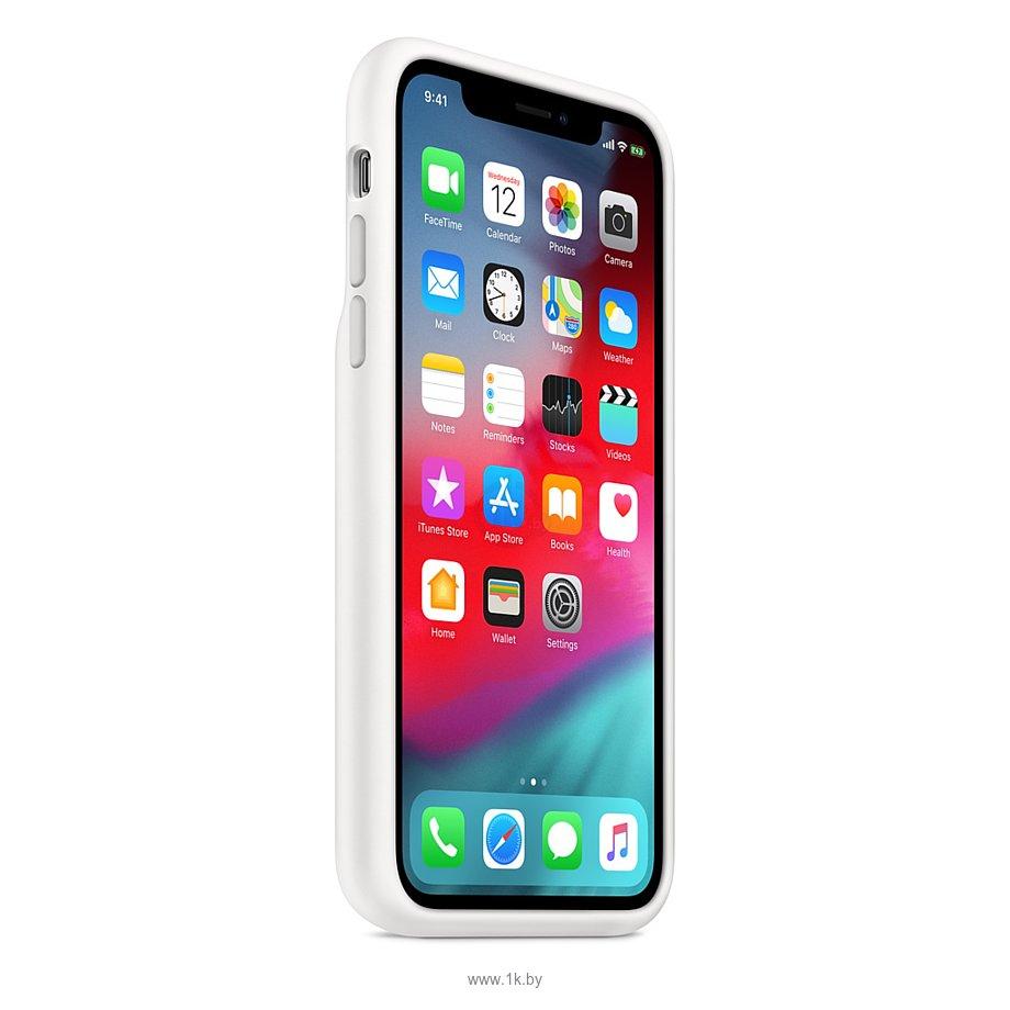 Фотографии Apple Smart Battery Case для iPhone XS (белый)