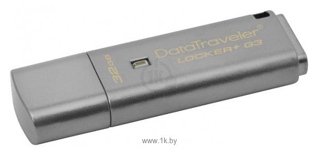Фотографии Kingston DataTraveler Locker+ G3 32GB