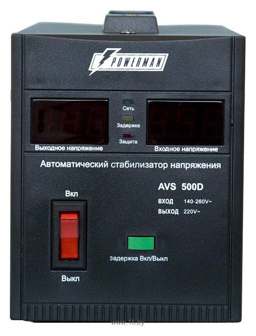 Фотографии Powerman AVS 500D