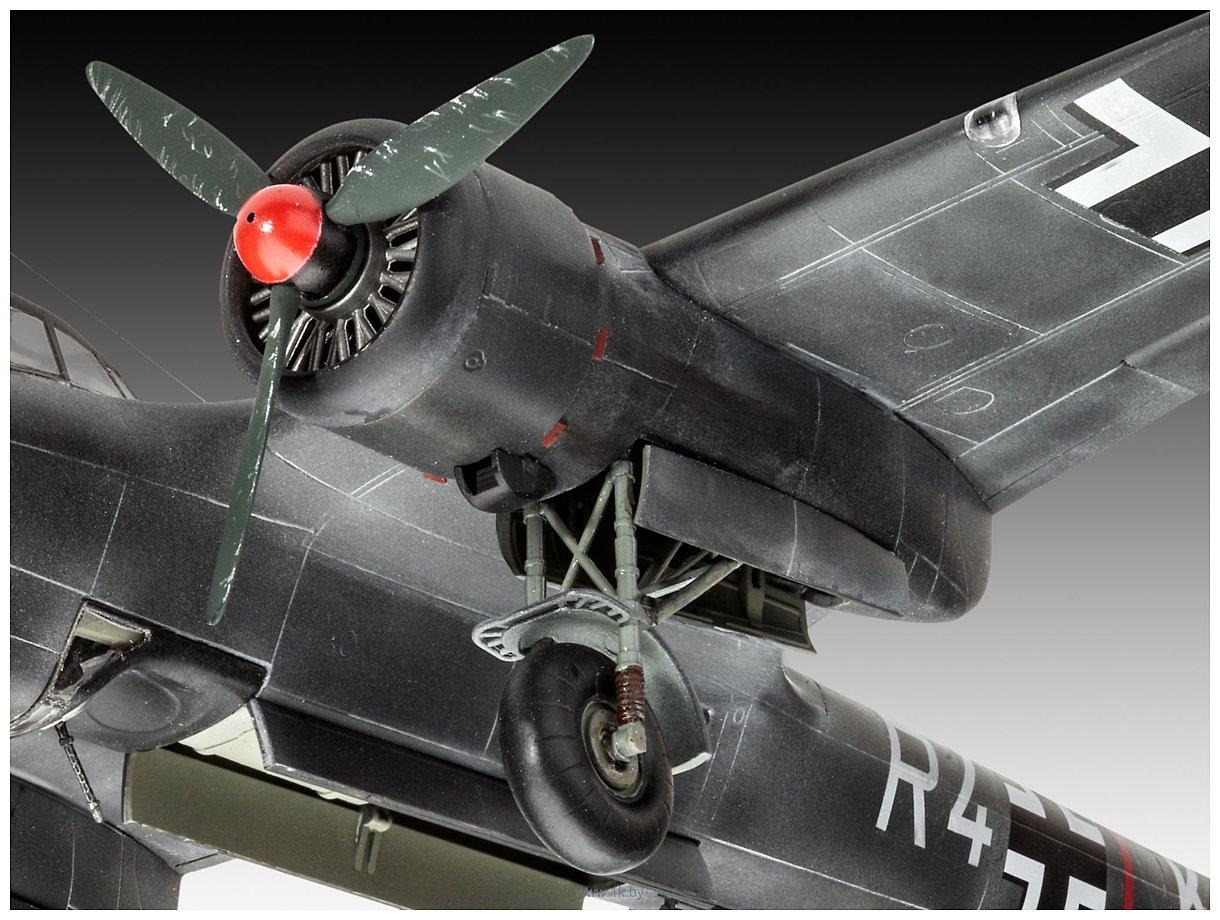Фотографии Revell 03933 Немецкий истребитель Dornier Do17Z-10