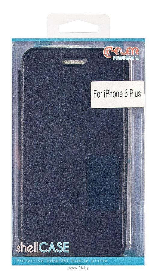 Фотографии Clever Design Shellcase для Apple iPhone 6 (синий)