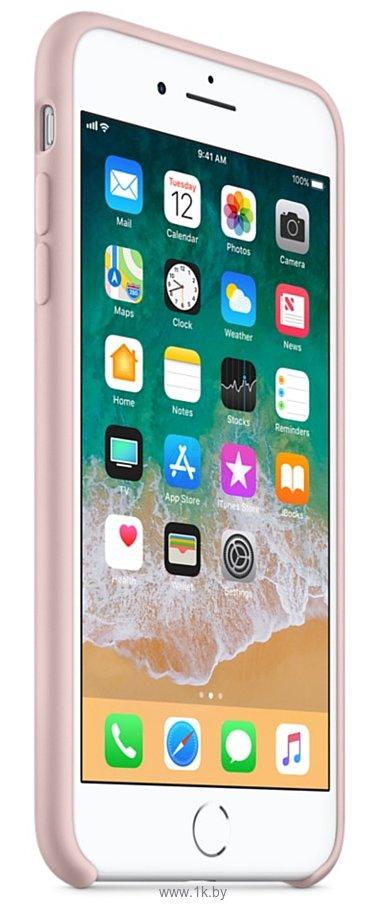 Фотографии Apple Silicone Case для iPhone 8 Plus / 7 Plus Pink Sand