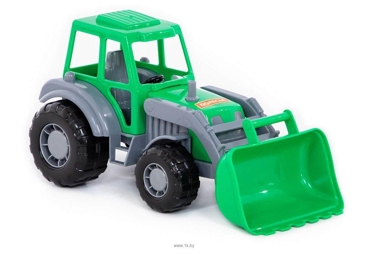 Фотографии Полесье Мастер трактор-погрузчик 35301