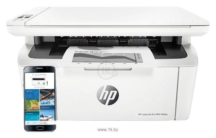 Фотографии HP LaserJet Pro MFP M28w