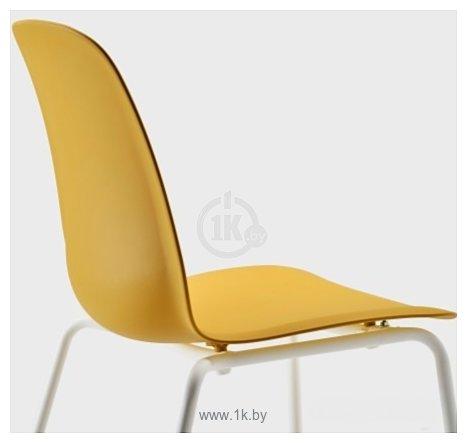 Фотографии Ikea Лейф-Арне (темно-желтый/брур-инге белый) 893.042.01