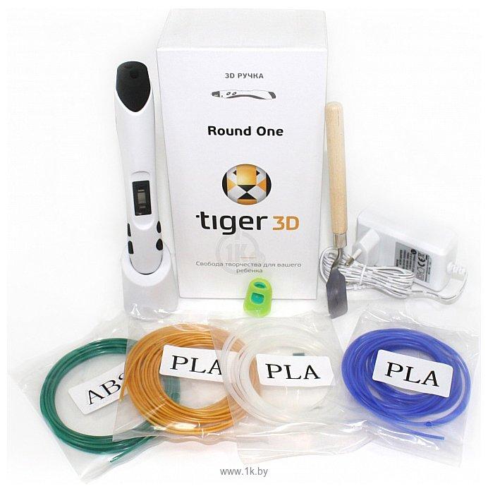 Фотографии Tiger3D Round One (белый)